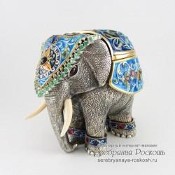 Шкатулка для украшений Слон