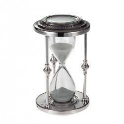 Серебряные песочные часы