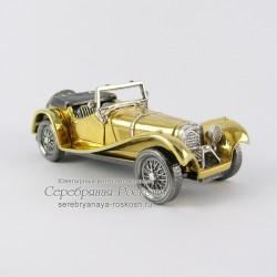 Настольная визитница - модель автомобиля Jaguar SS 100