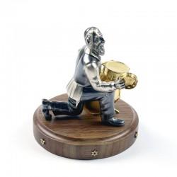 Серебряная статуэтка Барабанщик