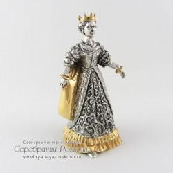 Серебряный колокольчик Королева