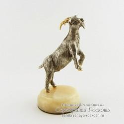 Статуэтка из серебра Козлик