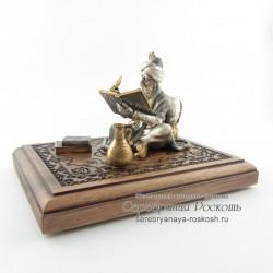Серебряная статуэтка Арабский мудрец