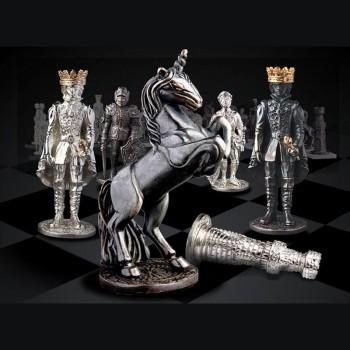Серебряные шахматы Баталия