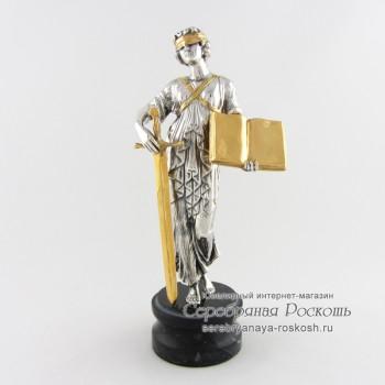 Серебряная статуэтка Закон